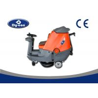 Quality Two Brushes Ride On Floor Scrubber Dryer Semi Automatic High Performance for sale