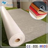 Buy Polyester Nylon Microfiber Nonwoven Synthetic Leather Fabric Raw Material at wholesale prices
