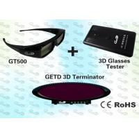 Quality 3D Cybercafé Solution with 3D IR emitter and shutter glasses  for sale