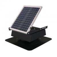 Quality Adjustable 30 Watt Solar Panel Attic Fan With Stainless Steel Body Material for sale