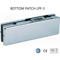 Buy cheap Bottom Patch Glass Door Clamp Edge Smooth Avoid Bruising PSS Finishing from wholesalers