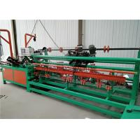 Quality Servo Motor Control Chain Link Fence Making Machine 600-3000mm Netting Width for sale