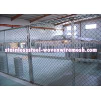 """Quality FLAT / CRIMPED Gray Inconel Knitted Metal Mesh Plain Weave Wire Diameter 0.008 - 0.011 """" for sale"""