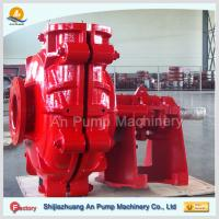 Quality red color industrial abrasive slurry pump for sale