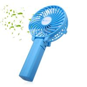 Quality Folding Mini Fan 3 Speed Outdoor Portable Handheld USB Fan Rechargeable for sale