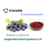 Quality Bilberry Extract Antioxidant Food Supplements Dark Purple Fine Powder for sale