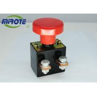 China Custom Micro Latching Push Button Switch  , Mushroom Emergency Stop Button 125A on sale
