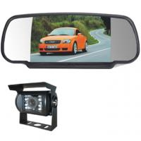 """Quality 7"""" rear view mirror monitor 12-24V, clip-on mount, CCD camear, 120° view angle for sale"""
