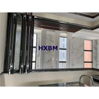 Quality Hurricane Proof Interior Folding Doors 6063 -T5 Aluminum Profile With Safety Glass for sale