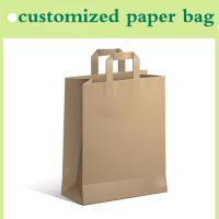 Quality paper handbag customized for shopping for sale