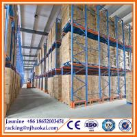 Quality warehouse drive in rack heavy duty pallet rack handling logistic actory supplier for sale