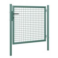 China Square tube garden gate double rod mats garden door garden fence gate fence gate NEW on sale