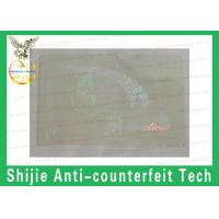 Quality CT / Connecticut hologram overlay sticker For ID'S manufacturer for sale