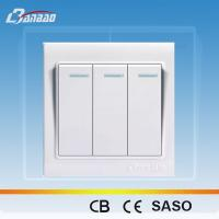 China LK4005 white color rocker PC wall switch on sale