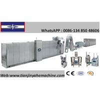 Quality Stainless Steel Made Multifunctional Full Automatic Flat Wafer Production Line for sale