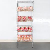 Quality Organized Display Equipment NSF Slop Slanted Wire Shelving For Retail Shops , Offices , Catering for sale