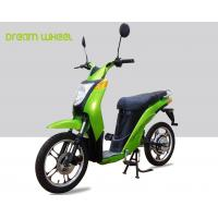 Quality 2 Wheels Pedal Assist Electric Bike , Electric Motor Assisted Bicycle 25-32km / H Speed for sale