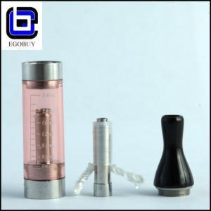 Quality Tank Ego E-Cig Atomizer T2 Coil , Smokeless Transparent Atomizer Coil for sale