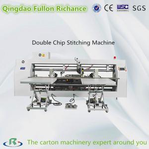 China Three Servo Driver Best Usage Double Chip Nail Box Stitching Machine on sale