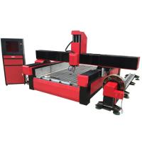 Stone cnc router marble carving machine with worktable size 1300*2500mm KC1325S