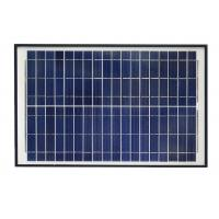 Buy cheap Blue 12V Solar Panel , Polycrystalline Silicon Solar Panel With Alligator Clip from wholesalers