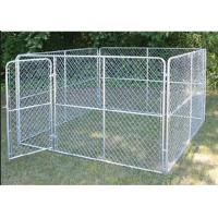 Quality Customized Design Metal Metal Dog Kennel Backyard Dog Kennel Easy Assembly for sale