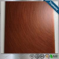 Quality Colorful Custom Pure Copper Composite Panel Sheet For Decoration High Strength for sale