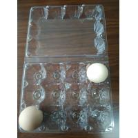 Quality quail egg trays 30 holes egg trays blister packing factory supply PVC for sale