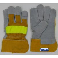 10 inch Cowhide Leather with cotton back Working Gloves