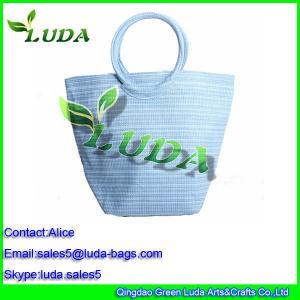 Quality shopping bag handbags on sale gift bags paper straw beach handbag for sale