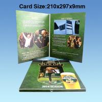 Quality Wedding Custom Video Greeting Cards , 7 Inch 16.7M Promotional Video Card for sale