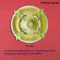 Quality Large recessed ceiling domes/ pu ceiling medallions for sale