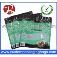 Buy cheap Repeatable Seal Window Plastic Food Packaging Bags / Chocolate Packaging Bags from wholesalers