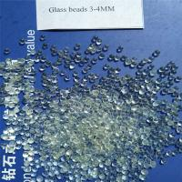 Quality Wholesale high roundness glass beads for toy stuffing for sale