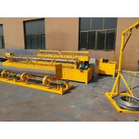 Quality Fully Auto Diamond Size Mesh Making Machine For Galvanized Wire for sale