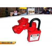 Quality 23g Pneumatic Quick-Disconnect Safety Lock Out with Rugged Polypropylene for sale