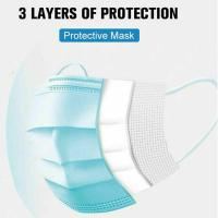 Quality Protective Medical Surgical Mask 3 Ply For Personal Protection Blue Color for sale