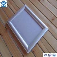 Quality High quality silver anodized matt aluminium led poster frame for sale