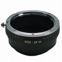 China LAEOSEFM Lens Mount Adapter for Canon, EOS EF EF-S Mount to EOS-M on sale