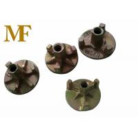 Quality SG42 Material Construction Formwork Accessories Tie Anchor Nut With Zine Coated for sale