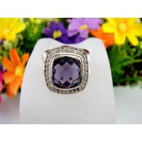 Handmade 925 Sterling Silver Color CZ Antique Jewelry Ring