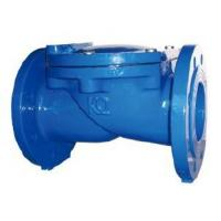 Wedge Ductile Iron Swing Check Valve DN15 ~ DN600 , Rubber Disc Check Valve