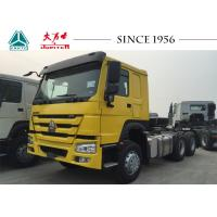 Quality Sinotruk HOWO 6X4 Tractor Truck Advanced Brake System With 371 Hp Euro II Engine for sale