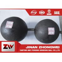 Quality High Carbon Grinding Balls For Mining / Durabl Steel Mill Media for sale