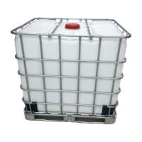 Quality Safe Plastic IBC Container 1000L Ibc Liquid Container For Lactic Acid Storage for sale