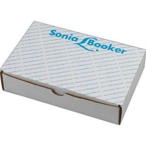 China Custom Logo Imprinted Corrugated Shipping Box Folding Style Tuck Top on sale