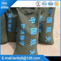 Green 30*70 cm prevent water canvas sand bag for flood