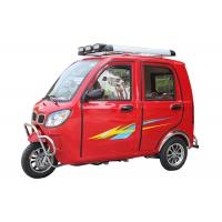 Quality Stable 200CC 3 Wheel Gasoline Tricycle 3 Seats Gold Silver For The Disabled for sale