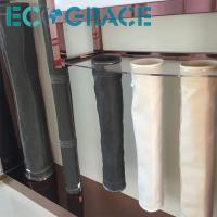 Quality Fiberglass  Dust Collector Filter Bags Stainless steel Rings PTFE membrane for sale