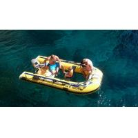 Buy cheap Clear Bottom Plastic Canoe inflatable boat Transparent Fishing Boats For Sale from Wholesalers